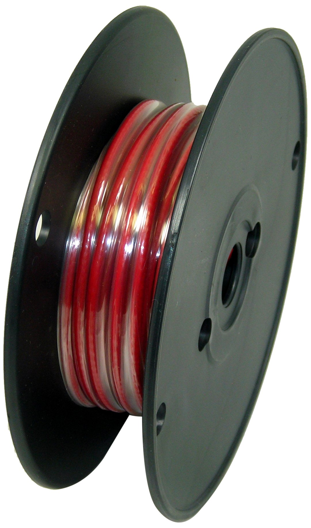 George L's 155 Guage Instrument Cable Roll (Red, 50 Foot)