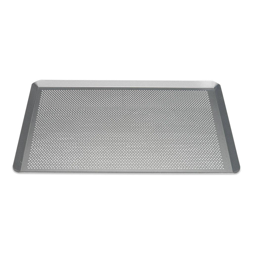 Patisse 03640 Silver-Top Backblech Gelocht, Stahl, Silber, 40 x 30 x 1 cm Patisse_03640