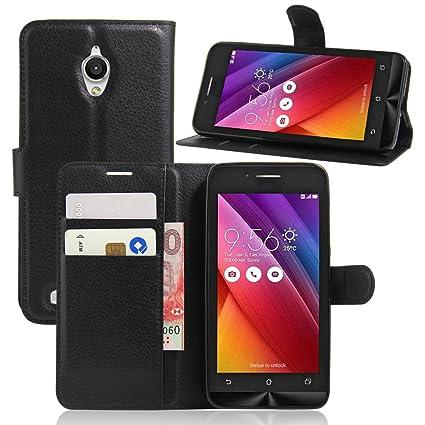outlet store c9013 ea251 ASUS ZenFone GO ZC500TG Case, DISLAND(TM) Flip PU Leather Card Slot Case  Magnetic Closure Stand Cover Fashion Wallet Case for ASUS ZenFone GO ...
