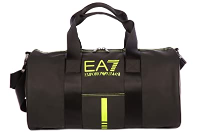 8ac6ea85860f Image Unavailable. Image not available for. Colour  Emporio Armani EA7 men s  fitness gym sports shoulder bag ...