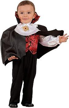 WIDMANN-Vampiro - Disfraz para niños, multicolor, (98 cm/1 – 2 ...