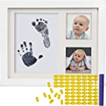 Baby Ink Hand and Footprint Kit – Handprint Picture Frame for