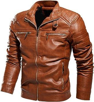 メンズコート・ジャケット-メンズジャケットオートバイジャケットプラスベルベット、暖かさ、耐寒性