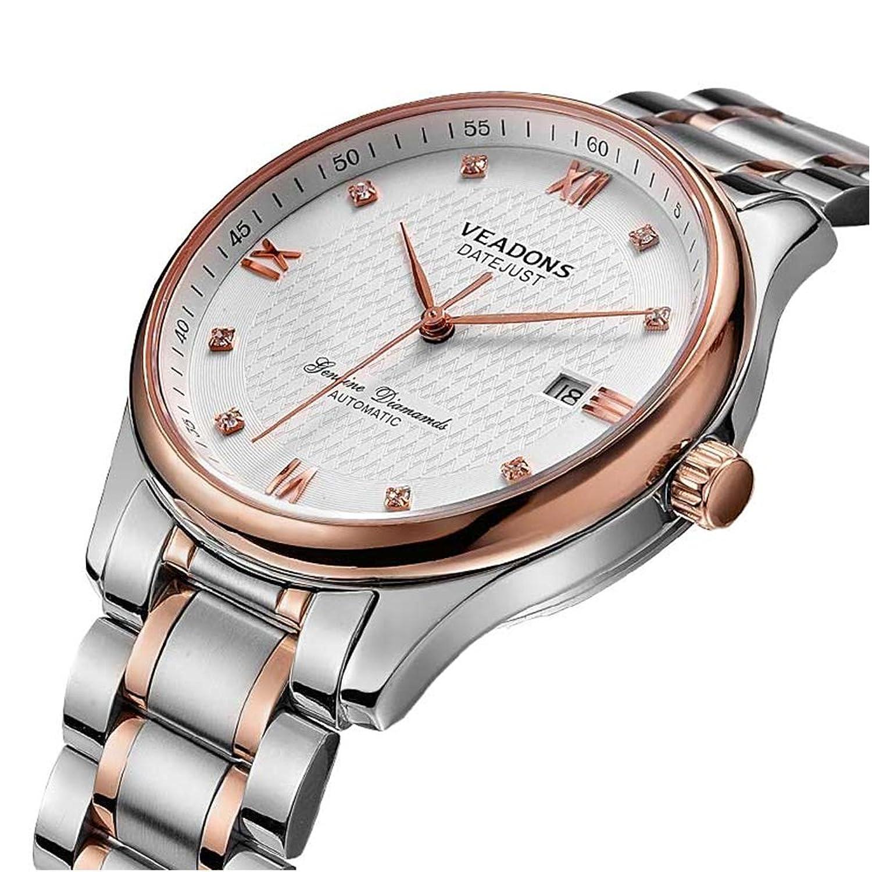 VEADONS Fashion Business Wasserdichtes Vollautomatische mechanische Uhren Armbanduhren For Mnner
