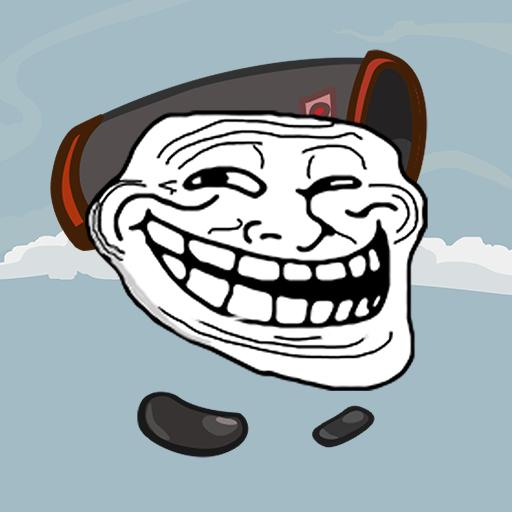 trollface-rope-and-bazooka