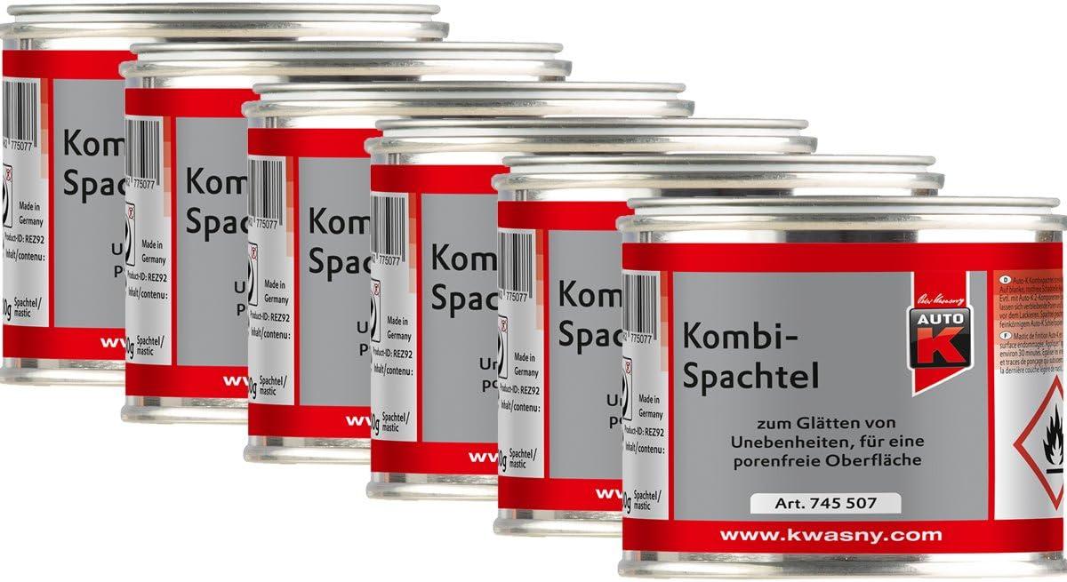 Kwasny 6x 745 507 Auto K Kombi Spachtel Kombispachtel 200g Auto