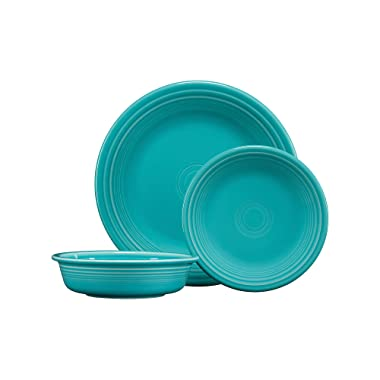 Fiesta 3-Piece Classic Place Setting in Turquoise