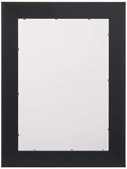 Amazon.com - ArtToFrames 7x10 inch Satin Black Picture Frame ...