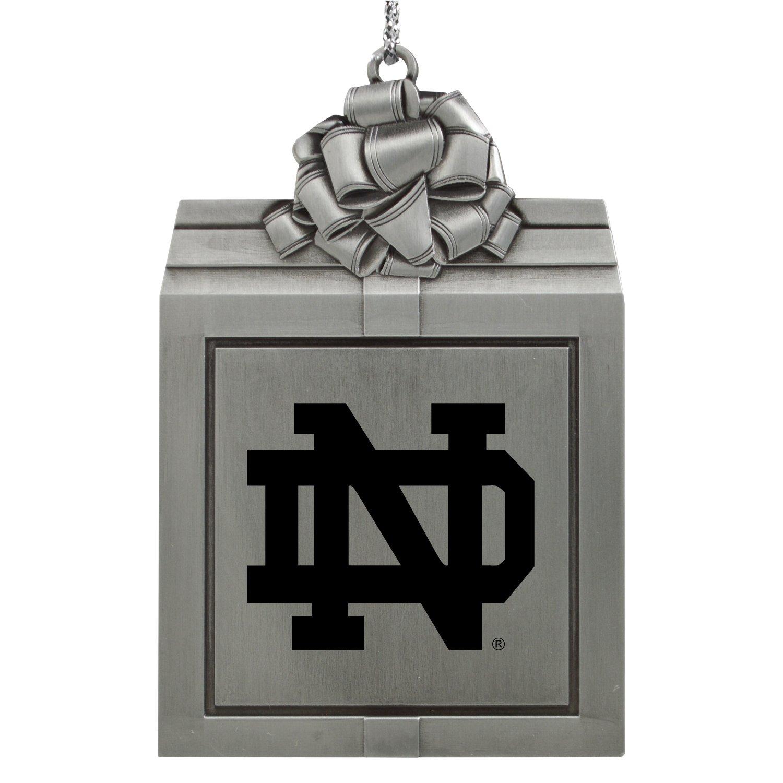 Amazon.com: University of Notre Dame-Pewter Christmas Holiday ...