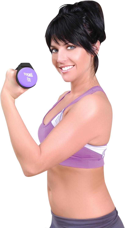 Tone Fitness HHWW-TN002 Pair Neoprene Walking Weights