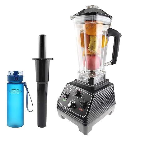 shkax Batidora Licuadora de Vaso Profesional 1400W 2L Jarra sin BFA Velocidad Ajustable Antioxidante Cocina Mezclador Eléctrico para Smoothie
