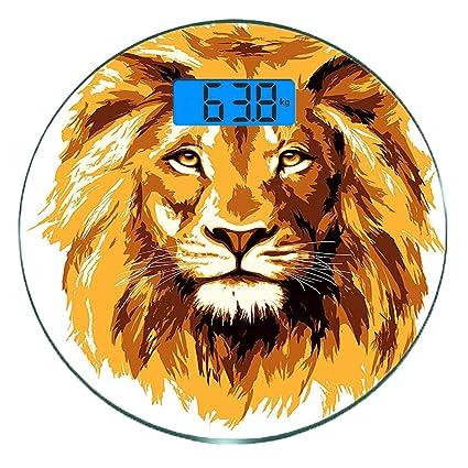 Escala digital de peso corporal de precisión Ronda Safari de ...