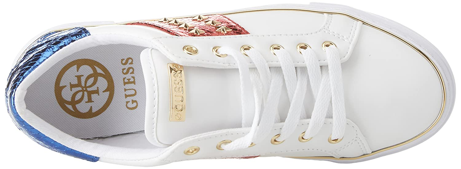 Guess Gamer//Active Lady//Leather Like Zapatillas de Gimnasia para Mujer