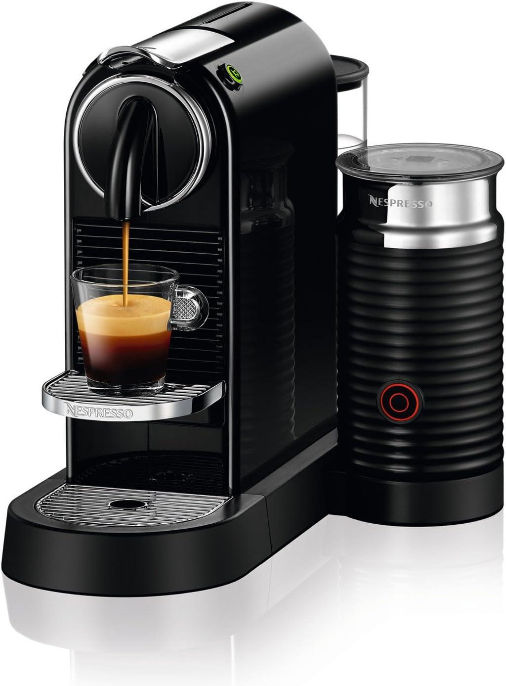Nespresso CitiZ Milk Espresso Machine, Black Discontinued Model