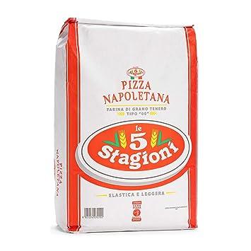 "Amazon. Com: le 5 stagioni pizza napoletana italian ""00"" soft."