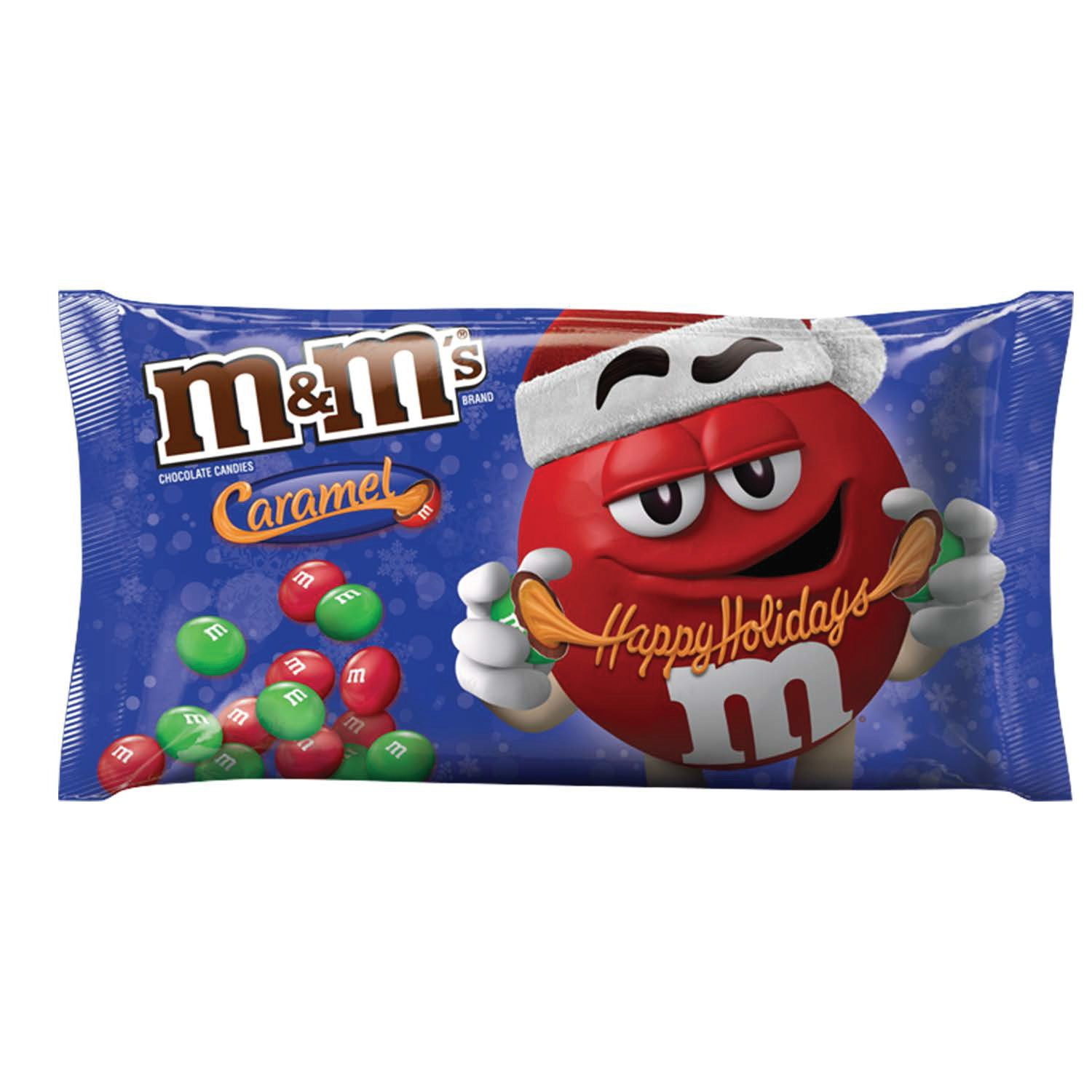 M&M's Holiday Caramel Chocolate Candy, 10.2 Ounce