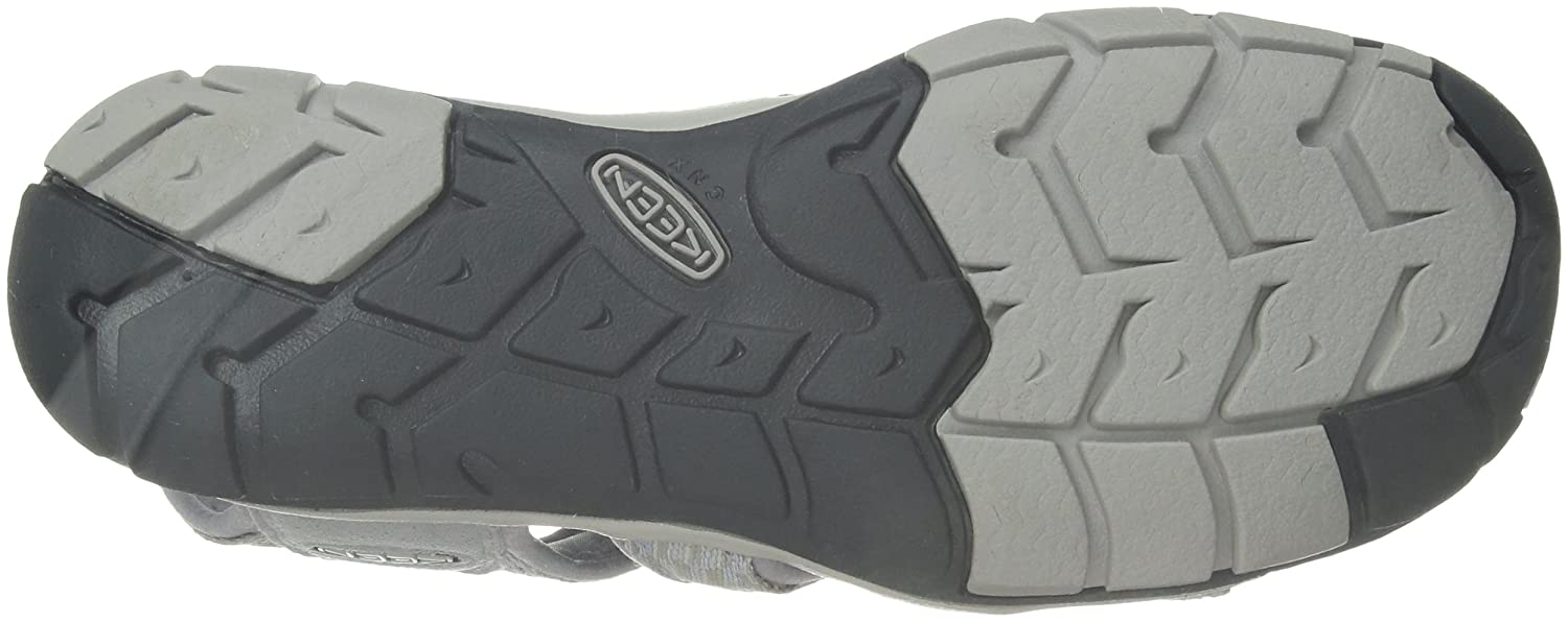 Keen Trekking- Damen Clearwater CNX Sandalen Trekking- Keen & Wanderschuhe, Grau (Dapple Grey/Dress Blue Dapple Grey/Dress Blue) 7633f1