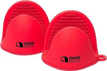 Amazon.com: Swish Abode Juego de manoplas de horno de ...