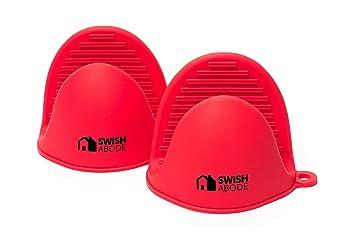 SWISH ABODE 6-inch Mini Oven Mitts