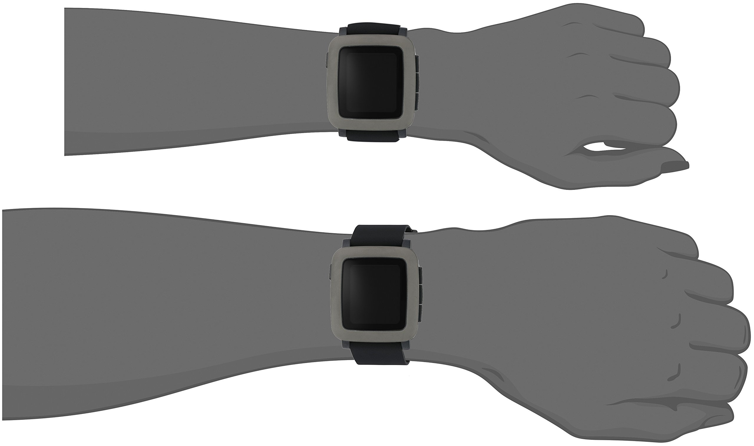 Pebble Time Smartwatch - Black by Pebble Technology Corp