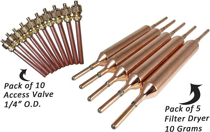 Filtro Deshidratador 20gr 3//16 X Capilar Secador Tuberias Frigorifico