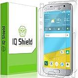 Galaxy S7 Screen Protector, IQ Shield LiQuidSkin Full Body Skin + Full Coverage Screen Protector for Galaxy S7 HD Clear Anti-Bubble Film - with