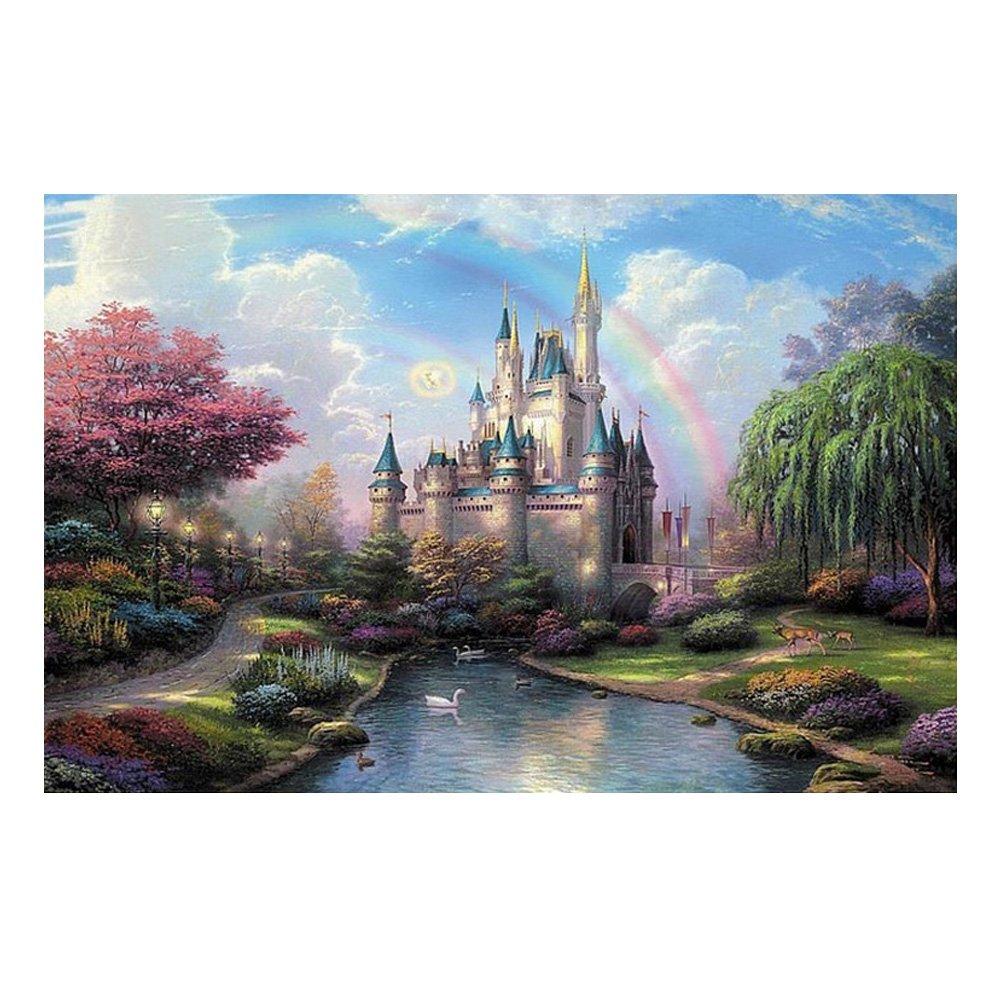 Belle esthétique et 1000 morceaux Puzzle, Château Fantaisie