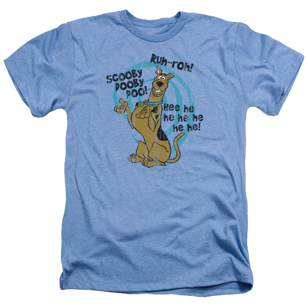 TeeShirtPalace Scooby Doo Quoted Heather T-Shirt
