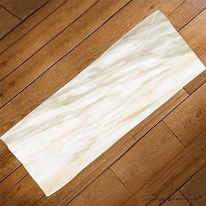 VROSELV Custom Toalla Suave y cómodo Playa Towel-Marble Textura en Natural Estampada para diseño