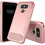 LG G6 Case, JDB Heavy Duty Defender Shock Absorption Impact Resistant Protection Hybrid with Flexible Inner Protection…