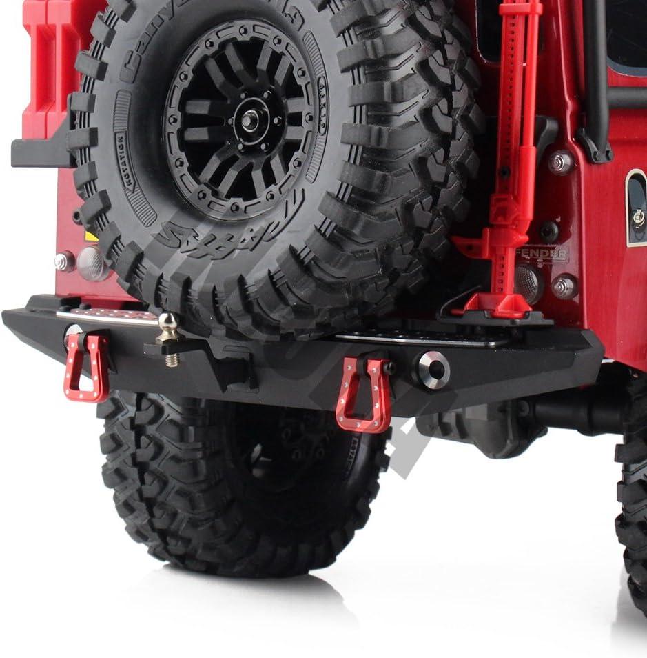 Metall HeckstoßStange mit Rahmenhalterung für RC Cler Car Traxxas TRX4 V4Y5