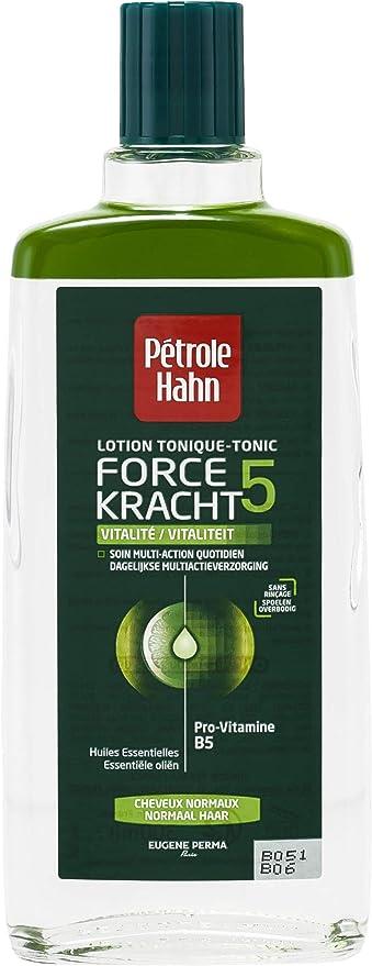Petrole Hahn - Loción tónica de fuerza 5 Vitalité para cabello normal de 300 ml. - Lote de 2