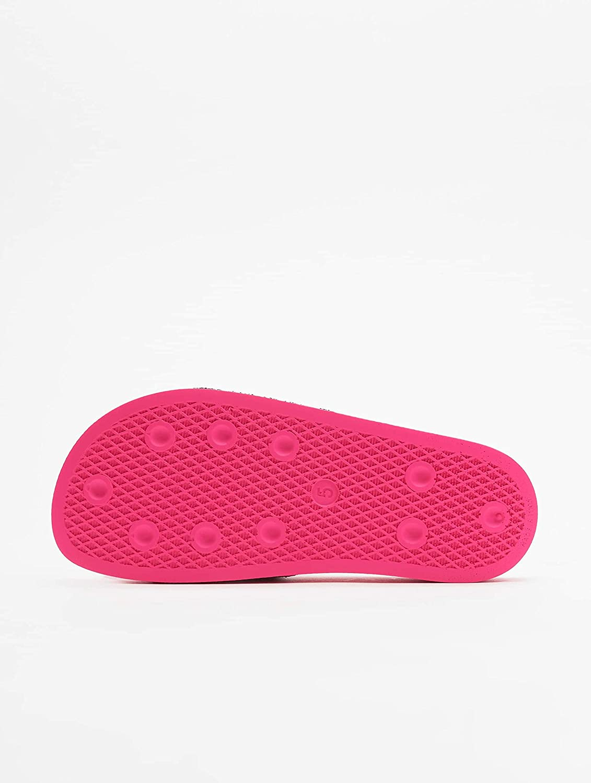 adidas Originales Adilette, Verde Rosa Shock Pink
