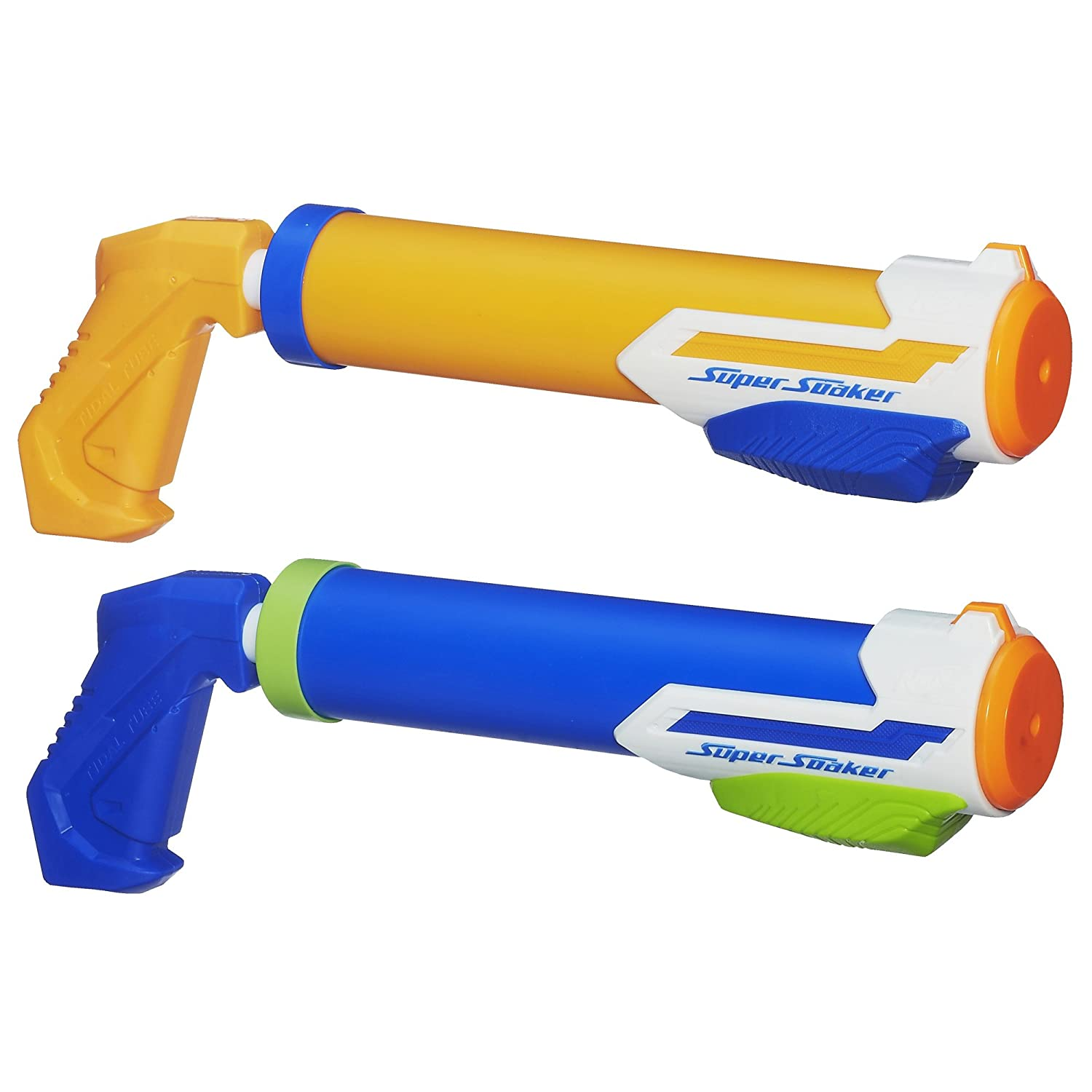 Amazon.com: Nerf Super Soaker Tidal Tube Blaster 2-Pack(Discontinued by  manufacturer): Toys & Games