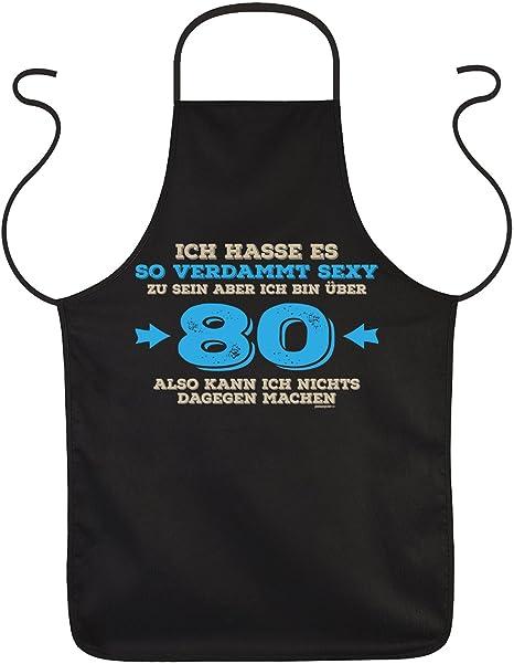 Regalo Per 80esimo Compleanno Grembiule Bin Oltre 80 Alla 80