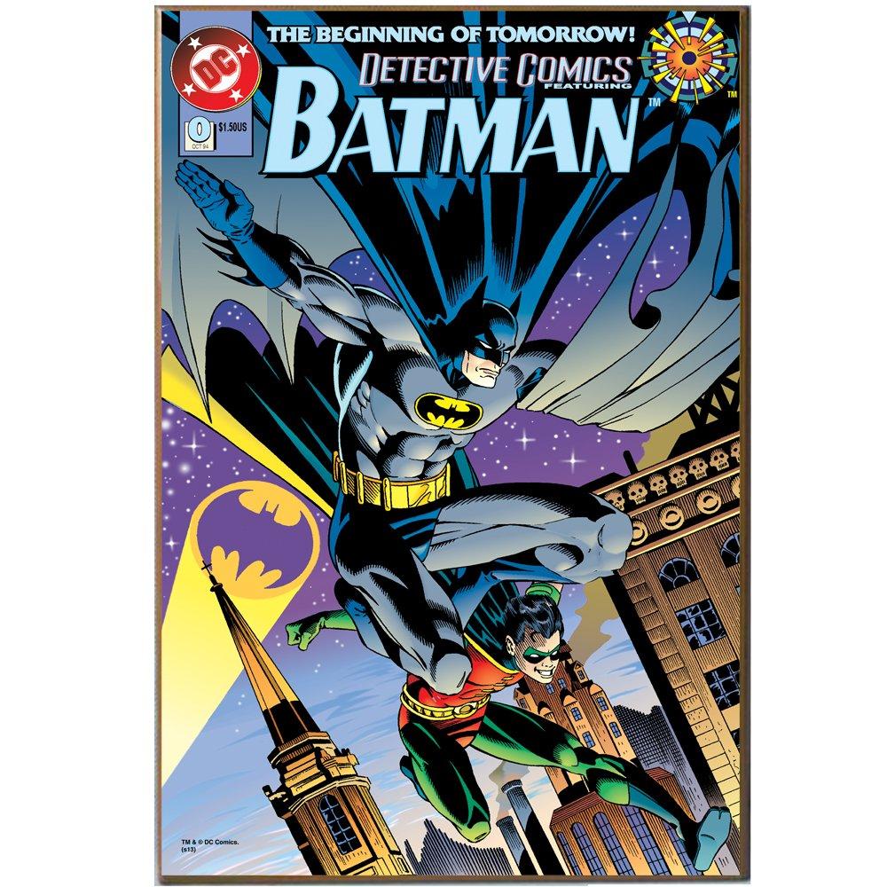 Amazon.com: Silver Buffalo BN3336 DC Comics Batman Beginning Of Tomorrow  Wood Wall Art Plaque, 13 X 19 Inches: Home U0026 Kitchen