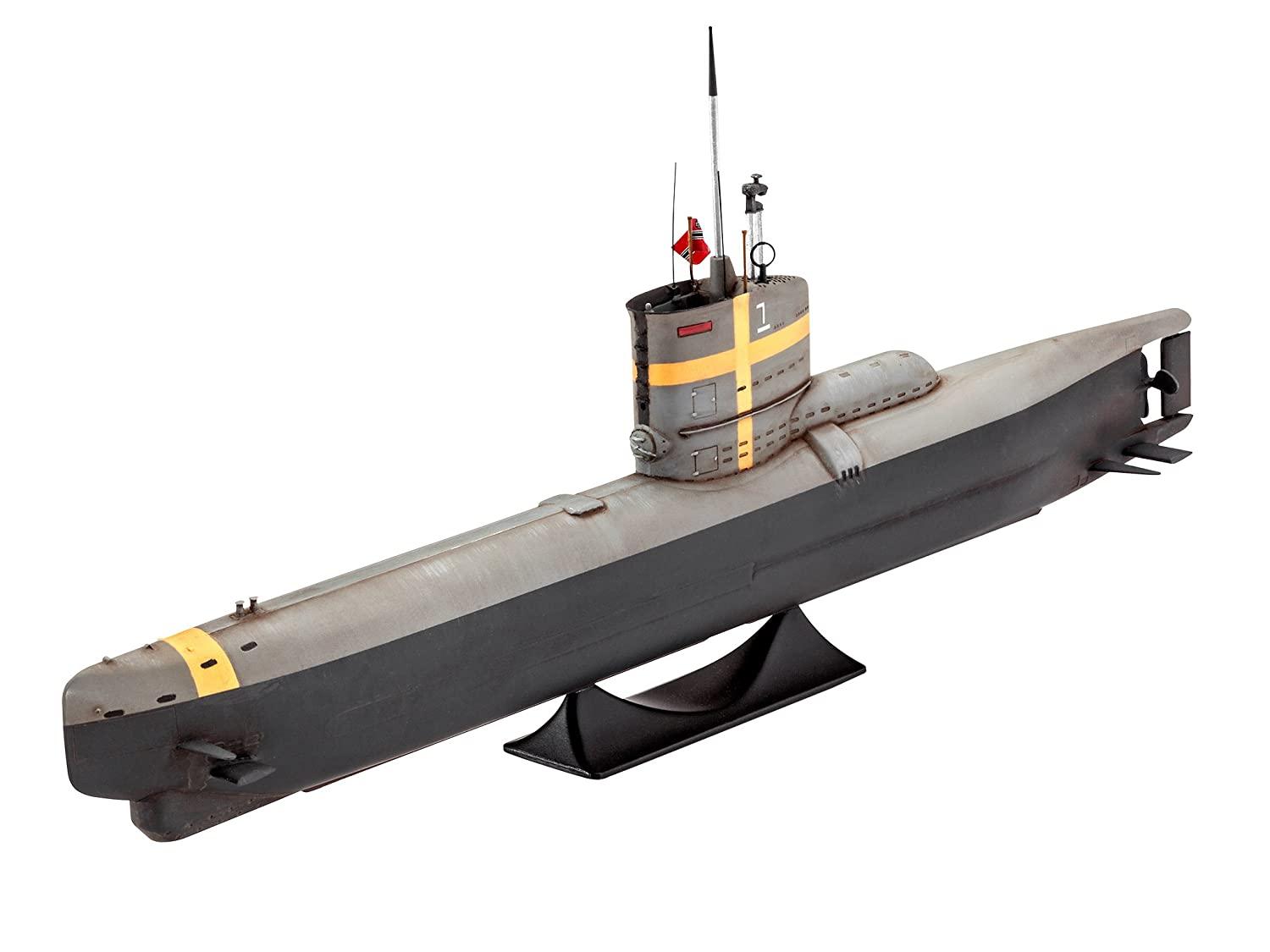Revell 65140 - Model Juego German Submarine XXII en Escala 1 ...