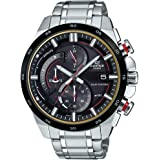 Casio Edifice Analog Black Dial Men's Watch - EX378 (EQS-600DB-1A4UDF)