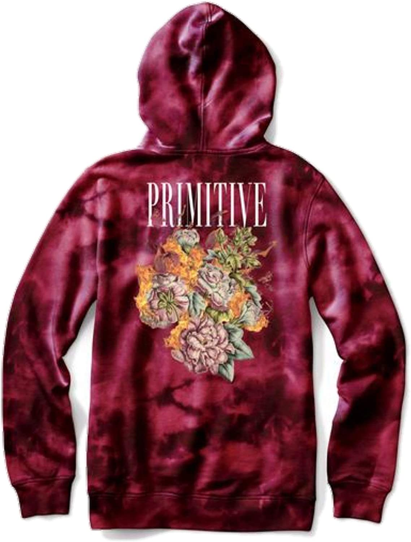 Primitive Revenge Hood (Burgundy Wash) 711223mZntLUL1500_