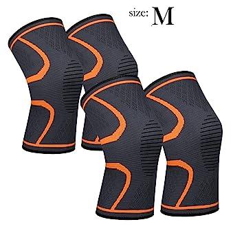 Amazon Com 711tek Knee Sleeve Compression Knee Brace For Knee Pain