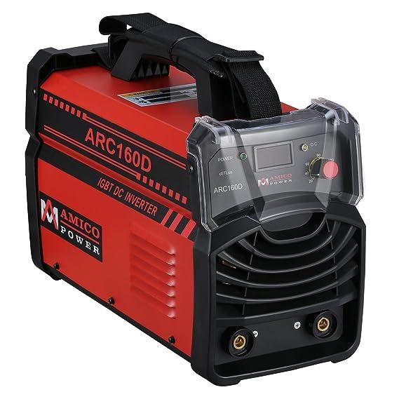 Amico ARC-160D 160 Amp Stick Arc DC Welder 110/230V Dual Input Voltage Welding - - Amazon.com