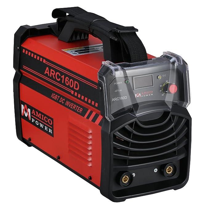 Amico ARC-160D 160 Amp Stick Arc DC Welder 110/230V Dual Input Voltage Welding
