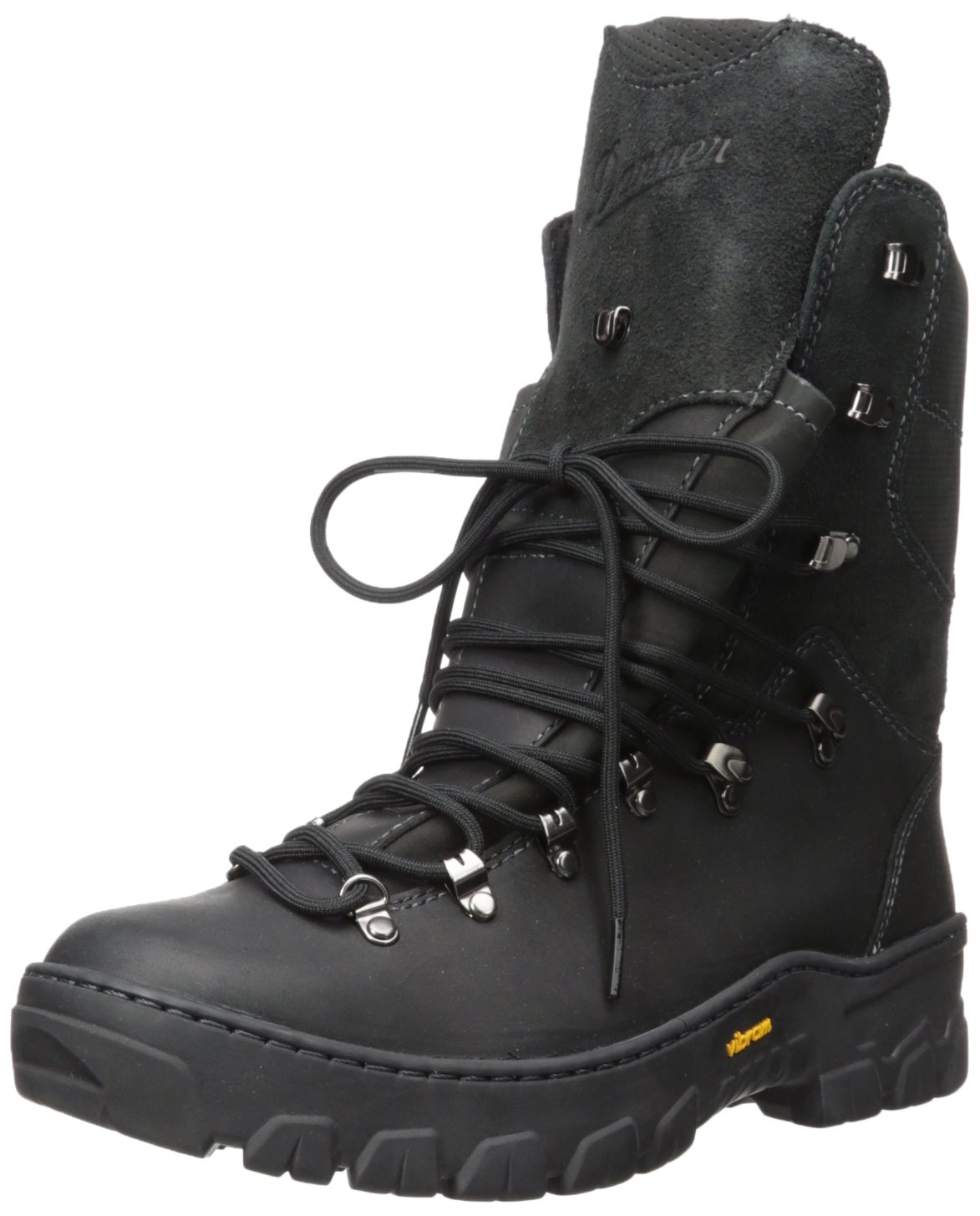 Danner Men's Wildland Tactical Firefighter 8'' Fire and Safety Boot, Black Smooth-Out Out, 9.5 B US