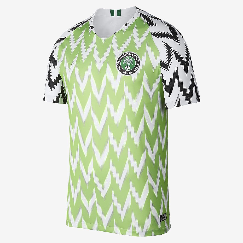 5f0c037fd46 Apparel online Nigeria National Football Shirt 2018 Soccer Home Jersey  Short Sleeves