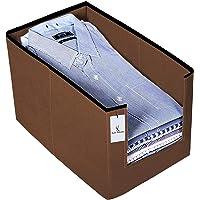 Kuber Industries Piece Non Woven Shirt Stacker Wardrobe Organizer Set