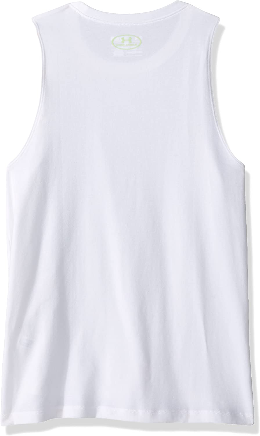 Under Armour Girls Step It Up Muscle Tank Top