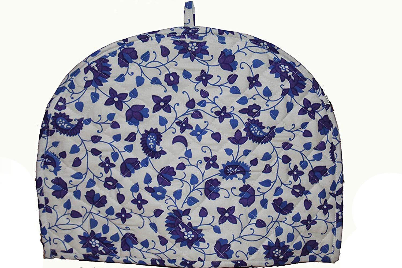 Blue White Cotton Handmade Designs Tea Cozy Creative Tea Cosy Indian Mandala Tea Cozies Tea Pot Cover