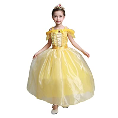 Dressy Daisy Girls' Princess Costumes Princess Dresses Halloween Fancy Dress: Clothing