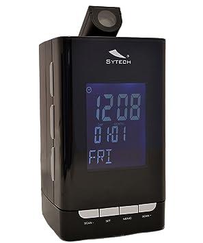 Radio Despertador de Lujo y Diseño con Proyector Regulable y ...