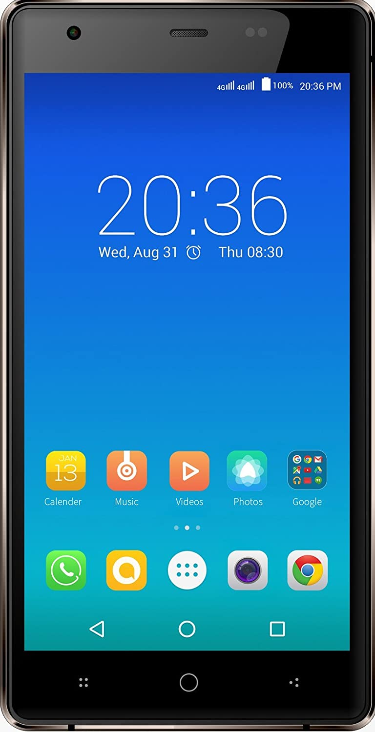 Micromax Canvas 5 Lite Q462 (Brown)